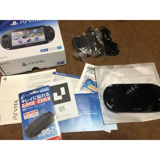 ソニー(SONY)の専用希少BLACK  vita Wi-Fiモデル2000(携帯用ゲーム機本体)