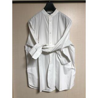 マーカウェア(MARKAWEAR)のmarkaware 16ss エプロンシャツ(シャツ)