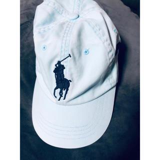ラルフローレン(Ralph Lauren)のRalphlauren cap POLO ラルフローレン 帽子 水色(キャップ)