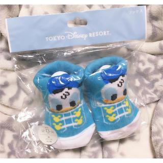 Disney - 新品 Disney ドナルド靴下