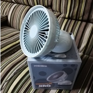 ドウシシャ(ドウシシャ)の卓上扇風機 JIRO ドウシシャ(扇風機)