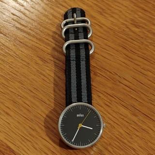 ブラウン(BRAUN)のBRAUN ブラウン 腕時計 ウォッチ BNH0021 ブラック BLACK 黒(腕時計(アナログ))