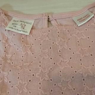ザラキッズ(ZARA KIDS)のZARAbaby  サイズ74  お星様トップス  ピンク 70 75 80(Tシャツ)
