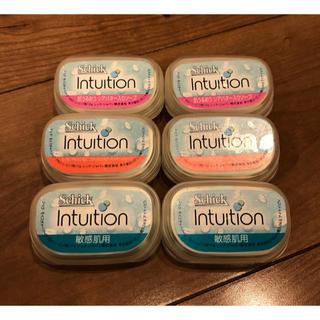 コストコ(コストコ)のSchick Intuition 替刃6個 ソープ(カミソリ)