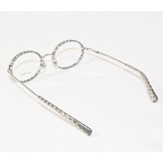 alanmikli(アランミクリ)の《アランミクリ》新品 イタリア製 オーバル型 チェック 眼鏡フレーム 伊達メガネ メンズのファッション小物(サングラス/メガネ)の商品写真