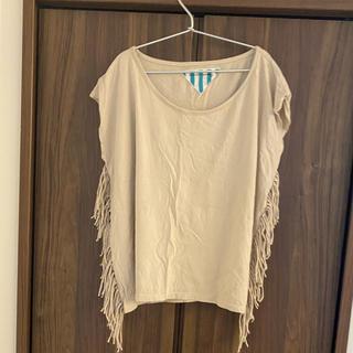 シールームリン(SeaRoomlynn)のマニックマンデーサイド🌴フリンジTシャツ(Tシャツ(半袖/袖なし))