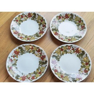 Wako / 和光 昭和レトロ プレート皿 4枚(食器)