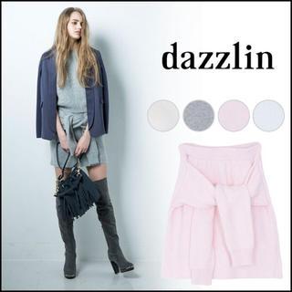 ダズリン(dazzlin)のdazzlin ニットスカート(ミニスカート)