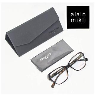 alanmikli -  《アランミクリ》新品 イタリア製 マーブル調 眼鏡フレーム Talette 黒