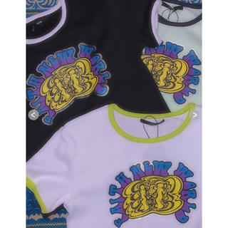 バブルス(Bubbles)のfaith サイケアートリンガーT(Tシャツ/カットソー(半袖/袖なし))