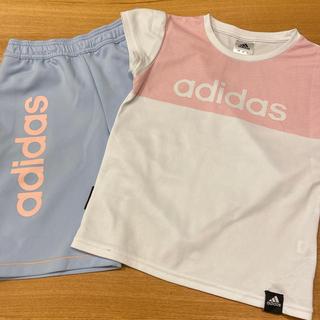 アディダス(adidas)のadidas ハーフパンツ ジャージ Tシャツ 130 キッズ(その他)