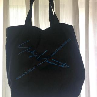 ヨウジヤマモト(Yohji Yamamoto)のヨウジヤマモト レア◎ トートバッグ ブラック プールオム(トートバッグ)