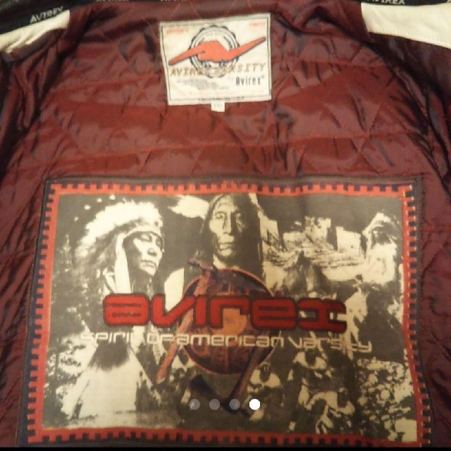 AVIREX(アヴィレックス)のビンテージ! AVIREX オールレザー フライトジャケット メンズのジャケット/アウター(フライトジャケット)の商品写真