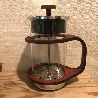 フランフラン(Francfranc)のウッドフレンチプレス(コーヒーメーカー)