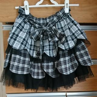 アルゴンキン(ALGONQUINS)のアルゴンキン チェックのスカート(ひざ丈スカート)