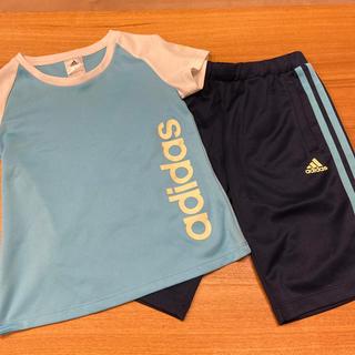 アディダス(adidas)のadidas ハーフパンツ Tシャツ キッズ 130  セット(その他)
