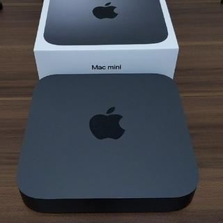 マック(Mac (Apple))のMac mini スペースグレー(デスクトップ型PC)
