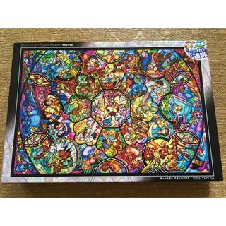 ディズニー(Disney)のディズニー ジグソーパズル   ステンドグラス 1000ピース(その他)