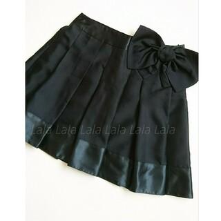 バービー(Barbie)のBarbie バービー プリーツスカート リボン(ミニスカート)