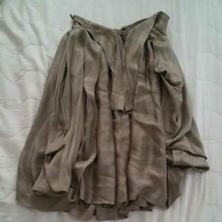 ヴィヴィアンウエストウッド(Vivienne Westwood)のヴィヴィアンウエストウッド アングロマニア シルクスカート(ひざ丈スカート)