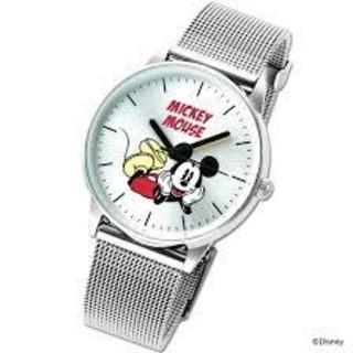 ミッキーマウス(ミッキーマウス)のspring ミッキー 時計(腕時計)