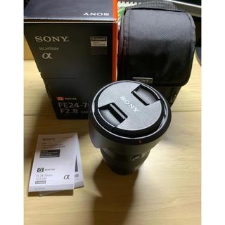 ソニー(SONY)の【美品】SEL2470GM FE 24-70mm F2.8 GM sony (レンズ(ズーム))