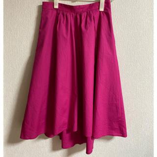 エヌナチュラルビューティーベーシック(N.Natural beauty basic)のフレアスカート(ひざ丈スカート)
