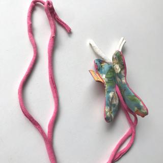 アッシュペーフランス(H.P.FRANCE)のJuana de Arco バタフライのネックレス(ネックレス)