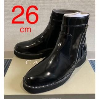 ジョンローレンスサリバン(JOHN LAWRENCE SULLIVAN)の新品❗️Cafe Noir ショートブーツ 26 cm(ブーツ)