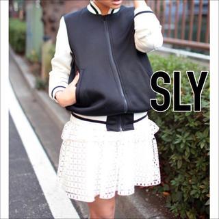 SLY - SLY コットンレース スカート♡エゴイスト JEANASIS moussy