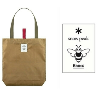 スノーピーク(Snow Peak)のJR東日本・snow peak・BRING コラボエコバッグ(エコバッグ)