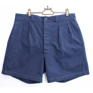 コモリ(COMOLI)のVintage French military chino shorts 後染め(ショートパンツ)
