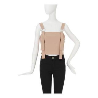 ムルーア(MURUA)のMURUA デザインキャミソール ビスチェ(カットソー(半袖/袖なし))