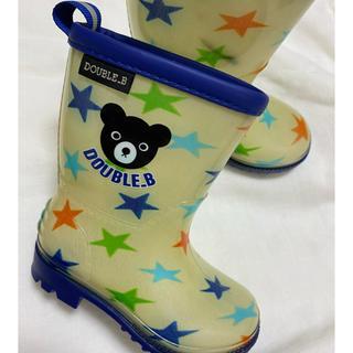 ダブルビー(DOUBLE.B)のダブルビー⭐︎長靴13cm(長靴/レインシューズ)