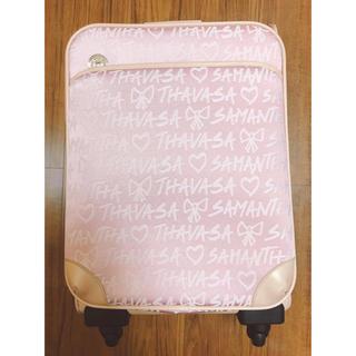 サマンサタバサ(Samantha Thavasa)のサマンサ キャリー ほぼ未使用(スーツケース/キャリーバッグ)