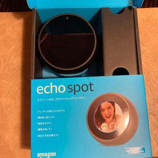 エコー(ECHO)のAmazon  echo  spot(スピーカー)