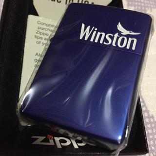 ジッポー(ZIPPO)のzippo  ジッポ winston ウィンストン 限定 非売品 未使用(タバコグッズ)