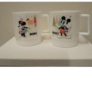 ディズニー  ミッキーとミニースタッキング カッププラスチック(キャラクターグッズ)