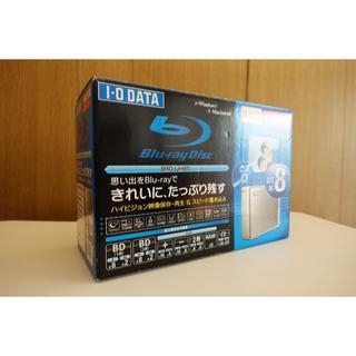 アイオーデータ(IODATA)のI-O DATA 外付ブルーレイディスクドライブ(BD/CD/DVD)(PC周辺機器)