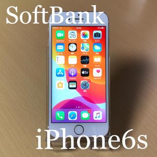 アイフォーン(iPhone)のiPhone6s Gold 16GB Softbank 本体 動作品(スマートフォン本体)