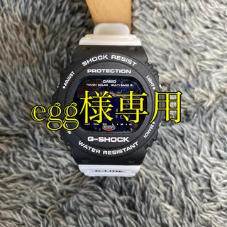 ジーショック(G-SHOCK)のCASIO G-SHOCK 腕時計 ホワイト/ブラック GWX5700SSN(腕時計(デジタル))