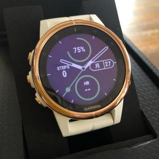 ガーミン(GARMIN)のGARMIN  FENIX 5S plus sapphire ローズゴールド(腕時計(デジタル))