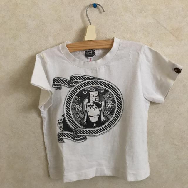 A BATHING APE(アベイシングエイプ)のくーりん様専用エイプデニムTシャツ100サイズセット キッズ/ベビー/マタニティのキッズ服男の子用(90cm~)(パンツ/スパッツ)の商品写真