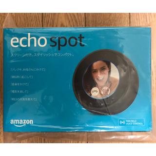 エコー(ECHO)の【やわらか銀行様専用】Amazon echo spot ブラック(スピーカー)