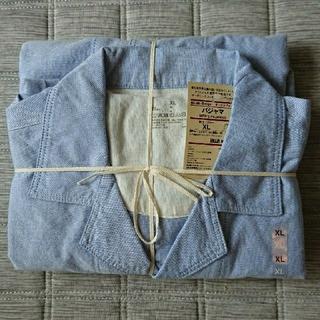 ムジルシリョウヒン(MUJI (無印良品))の脇に縫い目のない オックスフォードパジャマ(その他)