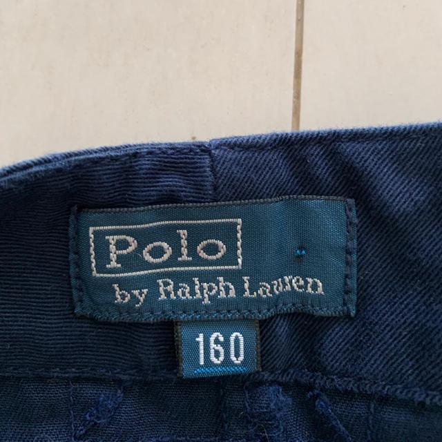 POLO RALPH LAUREN(ポロラルフローレン)のpoloラルフローレン ハーフパンツ 160cm 紺 キッズ/ベビー/マタニティのキッズ服男の子用(90cm~)(パンツ/スパッツ)の商品写真