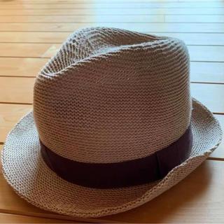 ジーユー(GU)のジーユー 麦わら帽子 ストローハット(麦わら帽子/ストローハット)