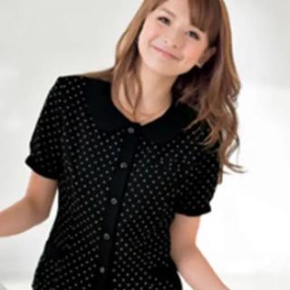 Joie (ファッション) - 事務服 あいくちゃん着用☆半袖オーバーブラウス9号