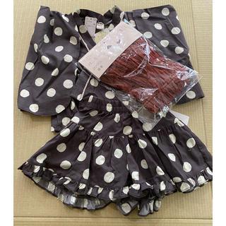 フタフタ(futafuta)のテータテート 浴衣ドレス 110 フタフタ(甚平/浴衣)