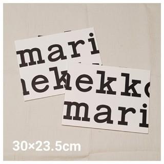 マリメッコ(marimekko)のマリメッコ ショッパー 紙袋(ショップ袋)